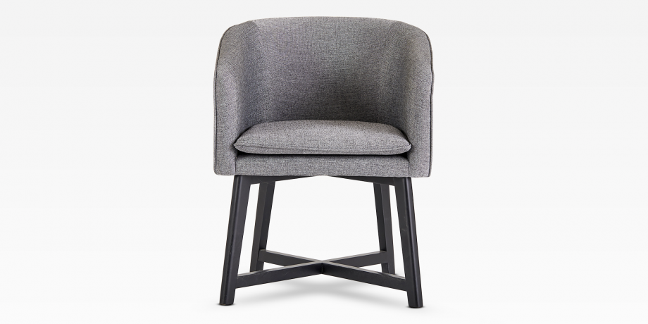 Edward Dining Chair (Charcoal)