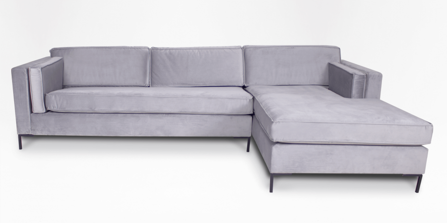 Haskell Fully Upholstered Slouch, Right