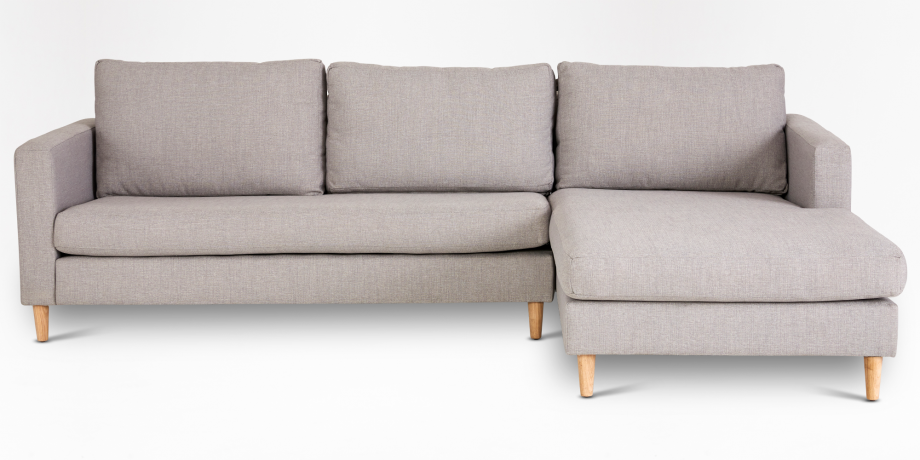 Sami Fully Upholstered Slouch, Right