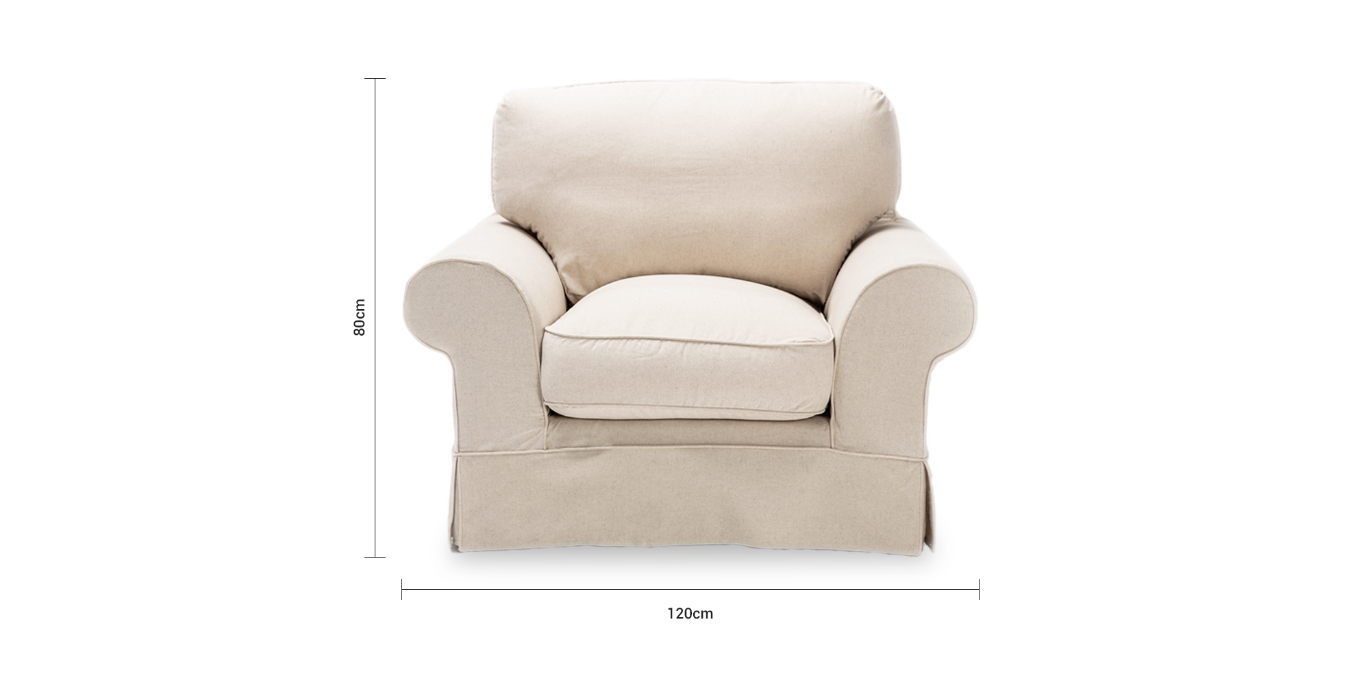 Connor Slipcover Chair
